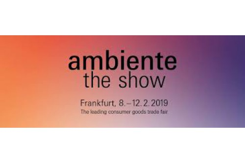 Ambiente 2019 from 08-12 February 2019